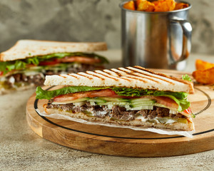 Panier sandwich